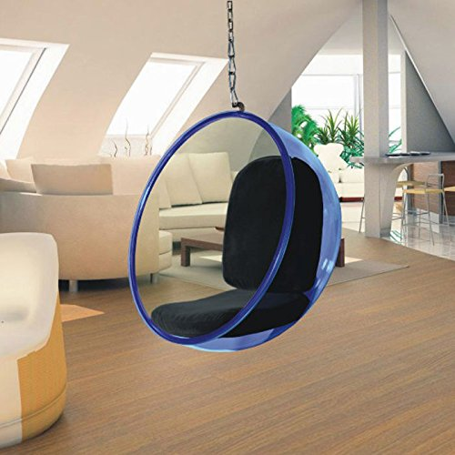 Bubble Hanging Chair Acrylic By Fine Mod Imports