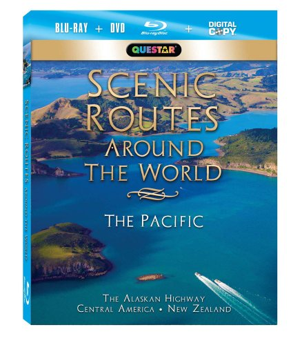 Scenic Routes Around the World: The Pacific [Blu-ray Combo Pack: Blu-ray, DVD and Digital Copy]