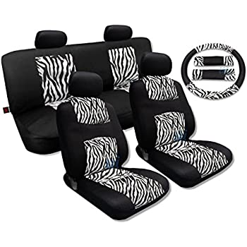 Amazon Com 12 Piece Animal Print Automotive Interior Gift