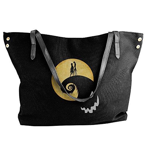 [Nightmare Before Christmas Jack Sally Handbag Shoulder Bag For Women] (Sally A Nightmare Before Christmas Costumes)