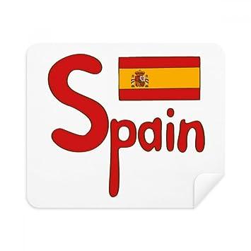 DIYthinker España Rojo de la Bandera Nacional de la Pantalla del ...