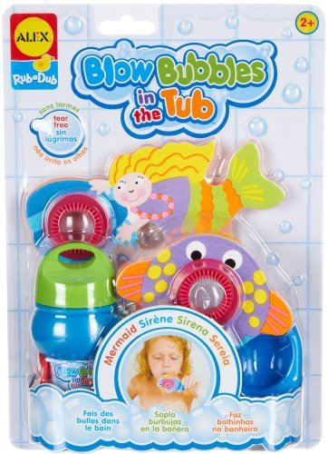Alex Toys Bubbles (ALEX Toys Rub a Dub Blow Bubbles in the Tub Mermaid by ALEX Toys)