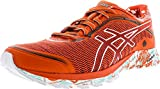 ASICS Women's Dynaflyte Tokyo Mandarin Red/White Deep Forest Low Top Tennis Shoe - 6M