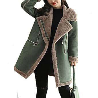 Amazon.com: New Winter Womens Fur Collar Warm Parkas