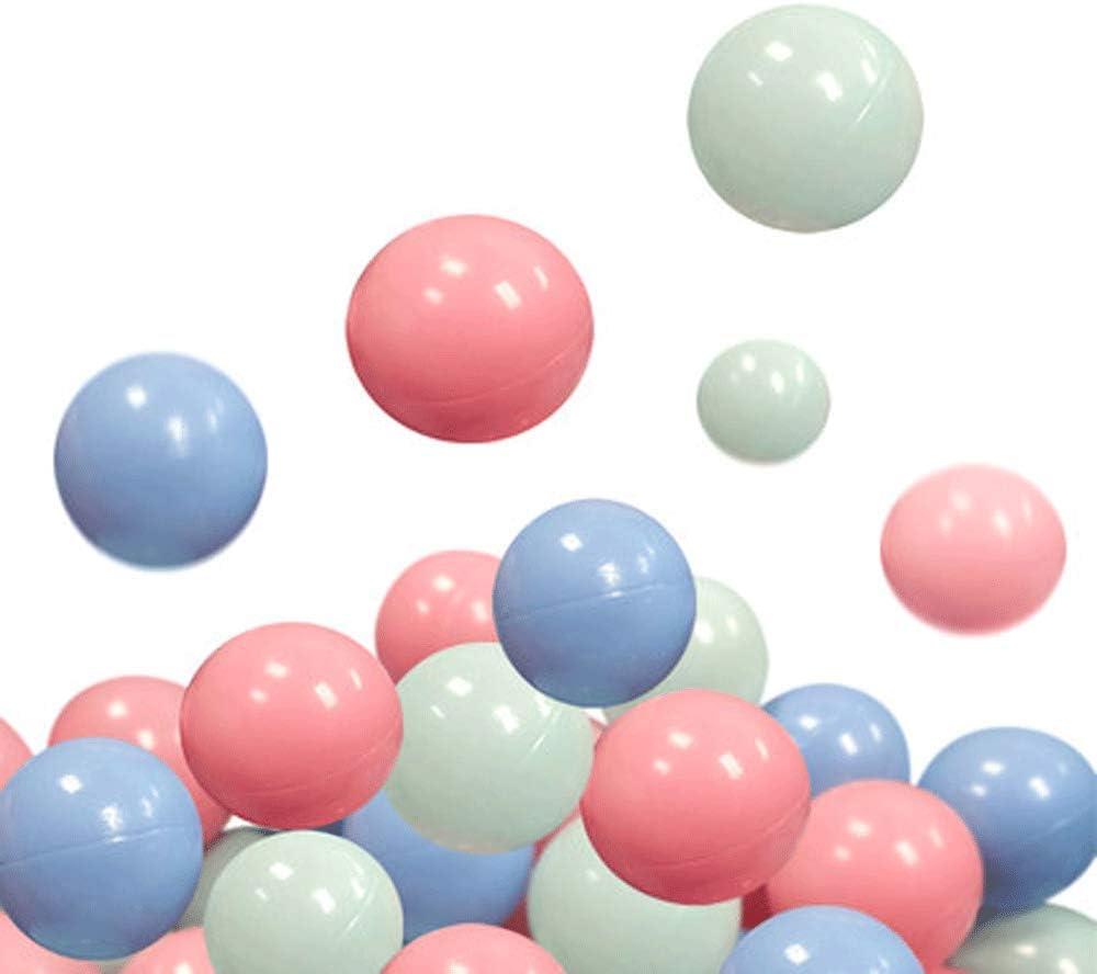 XHINB Bola oceánica no tóxica e insípida Bola de Juguete Infantil para bebés Bola para bebés Piscina de Color casa Bola de Ola - 7 cm (Cantidad: 200)