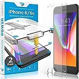 Power Theory Vetro Temperato i iPhone 6/6s [2 Pezzi] - Premium Pellicola Protettiva con Kit di Installazione di Facile utilizzo, vetrino per Apple iPhone6/iPhone6s