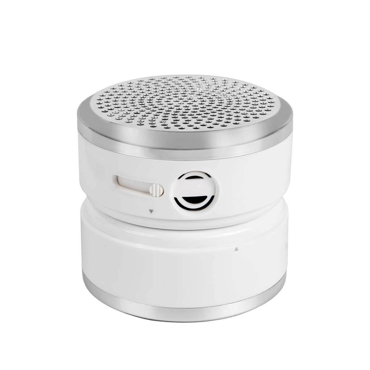 FitAir Portable Air Purifier With True HEPA Filter For Allergen, Dust, Pet, Odor, Smoke, Mold, USB Mini Air Purifier For Small Room, Travel, Desktop, Car, Camping And Kids, White