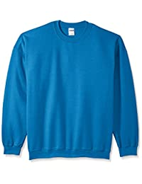Gildan mens big Men's Fleece Crewneck Sweatshirt Extended Sizes