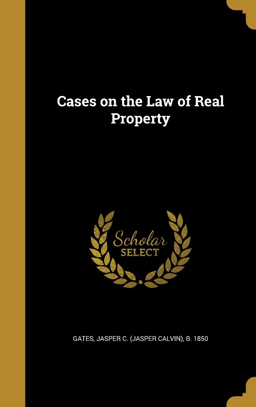 Cases on the Law of Real Property ebook