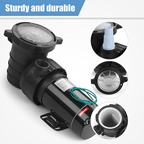 Buy electric pool vacuum for above ground