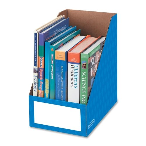 Wholesale CASE of 15 - Fellowes Bankers Box Magazine Holders-Magazine File Holder, Ltr, 8''x11-3/4''x12-3/4'', Blue by FEL