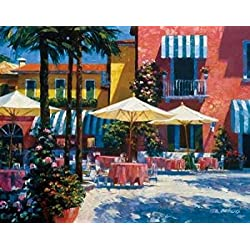 Inn at Lake Garda Poster Print by Howard Behrens (22 x 28)