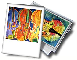 Amazonin Buy Gorgeous Violin Music Greeting Cards By Susan