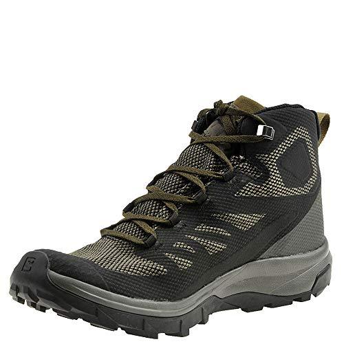 Chaussures Black Mid Outline Salomon Gtx dwPwqIS