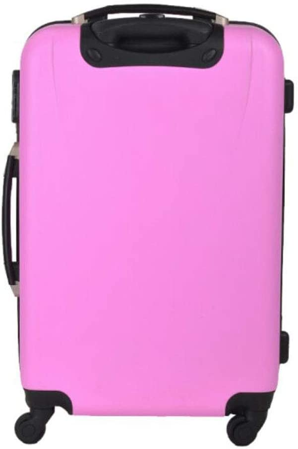 cm Color Aishanghuayi Suitcase for Shell Vintage Hard Shell Scroll Decoration with TSA Lock Suitcase Color : Pink, Size : 181127 inch Black Size 35 23 50