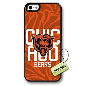 NFL Chicago Bears Team Logo Case For Ipod Touch 5 Cover Black Hard Plastic Case CovBlack 2