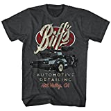 Back To The Future - Mens Biff'S T-Shirt, Size: Medium, Color: Black Heather