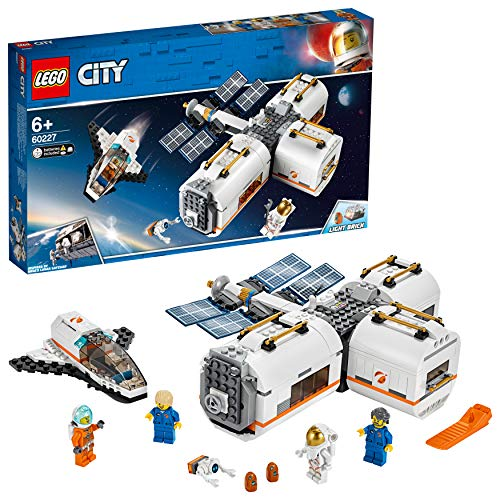 LEGO City Space 60227 - Lunar Space Station (412 Parts)