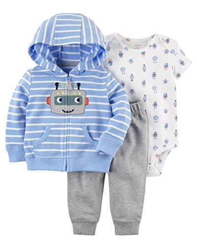 Carter's Baby Boys 3-Piece Little Jacket Set (Robot) - Robot Baby Boys Carters