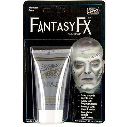 Fantasy Fx Cream Makeup (Mehron Fantasy FX Liquid Makeup - MONSTER GREY 1 oz.)