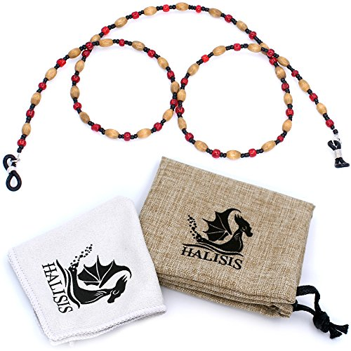 Eyeglass Holder - Eyeglass Chain - Beaded Eyeglass Strap Holder For Woman Girls Granny Old Lady Necklace Retainer Chains Lanyard Cord - Sunglass Holder Straps Retainer - Reading Glasses Strap - Frames Your Use Own Eyeglasses