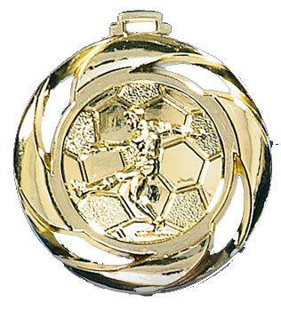 Medaille Fussball gold