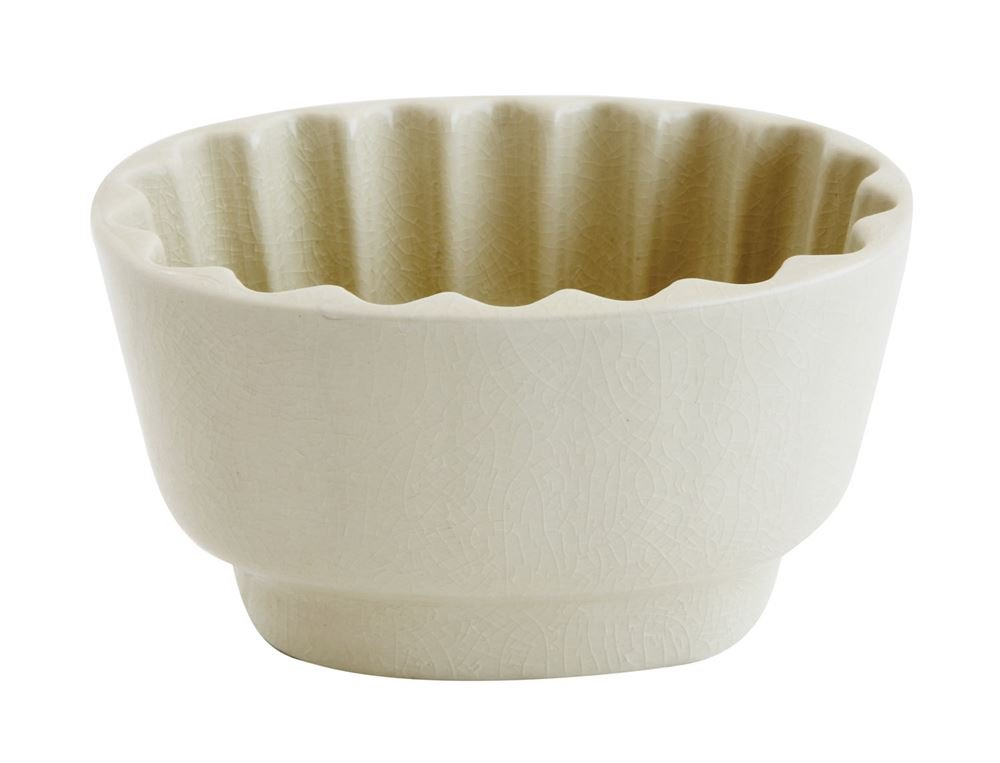 Heart of America Cream Stoneware Bowl - 6 Pieces by Heart of America (Image #1)