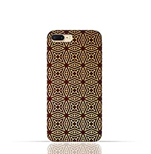 Apple iPhone 7 Plus TPU Silicone Case with Arabesque Floral Pattern
