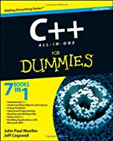 C++ All-In-One Desk Reference For Dummies, 2nd Edition Front Cover