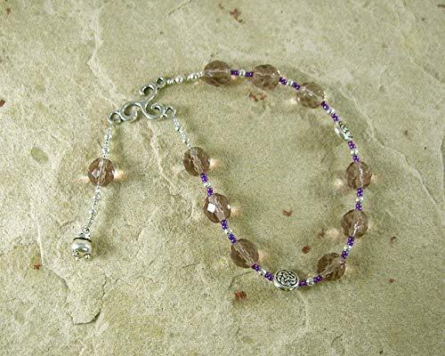Cerridwen Pocket Prayer Beads: Welsh Celtic Goddess of Transformation and Inspiration