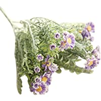 Artificial Flowers, Napoo 10 Heads Simulation Lavender Flowers Wedding Home Decoration (Purple)