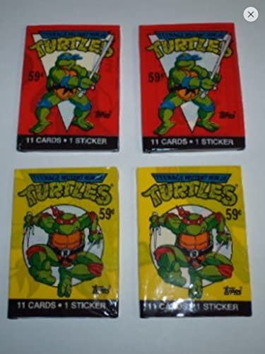1990 Topps Teenage Mutant Ninja Turtles Series 2 Unopened Wax Pack