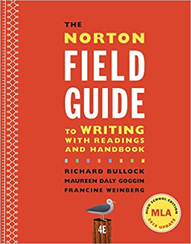 Read the norton field guide to writing with readings and handbook ….