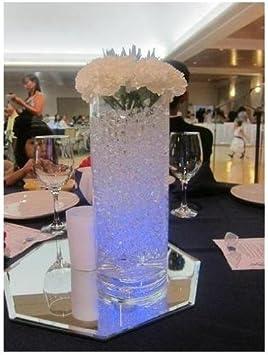 VKTECH/®12pcs bougies led submersible /étanche pour mariage Bleu