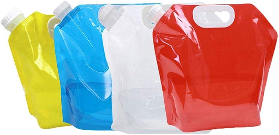 EisEyen Botella de Agua 5 L Bolsa de Agua Plegable plástico ...