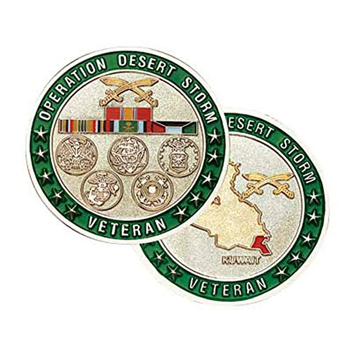 Medals of America Operation Desert Storm Challenge Coin Multicolored