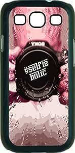 meilz aiai#SelfieHolic- Case for the Samsung Galaxy S III-S3- Hard Black Plastic Snap On Casemeilz aiai