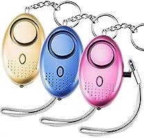 Belletek Safe Sound Personal Alarm Keychain Electronic, 140DB Personal Security Alarm Keychain with LED Lights...