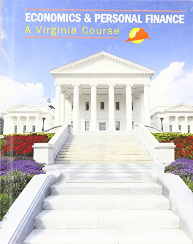 Economics & Personal Finance: A Virginia Course