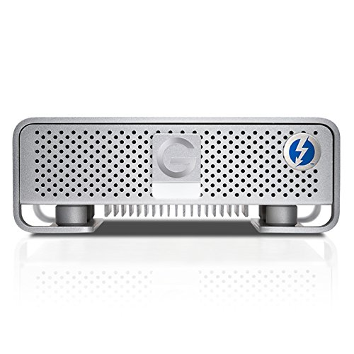 G-Technology G-DRIVE with Thunderbolt High-Performance Storage Solution 6TB (Thunderbolt, USB 3.0) (0G04023)