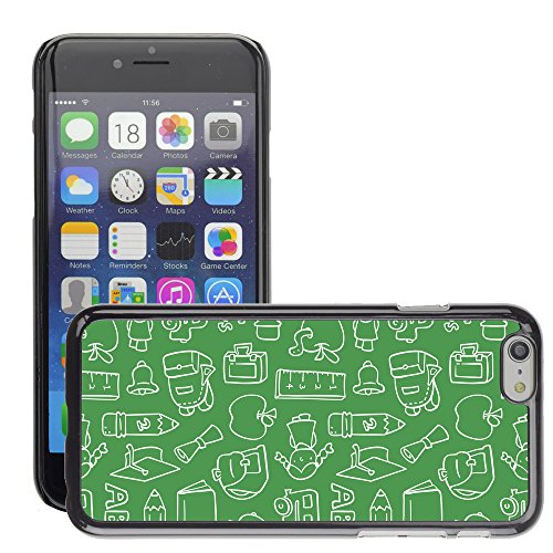 Premio Sottile Slim Cassa Custodia Case Cover Shell // V00002481 Motif Chalkboard // Apple iPhone 6 6S 6G PLUS 5.5""