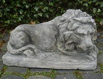 Gartenfigur Wandrelief Römischer Löwe Betonguss