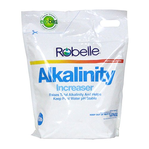 Robelle 2256B Total Alkalinity Increaser for Swimming Pools, 10 (10 Lb White Pool)