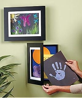 easy change artwork frame black fits 85 x 11 artwork frame