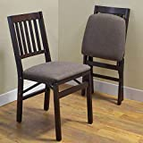 Stakmore Solid Wood Folding Chair Stakmore Solid Wood Folding Chair, 2-Pack