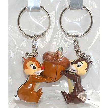 Amazon.com: Disneyland Paris Chip and Dale Magnetic Key Ring ...