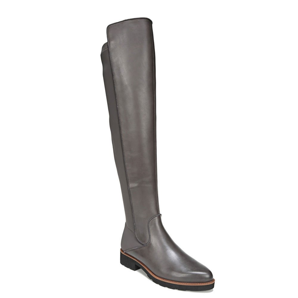 Franco Sarto Womens Benner B075BKP1CR 8 B(M) US|Peat Leather/Stretch Lycra