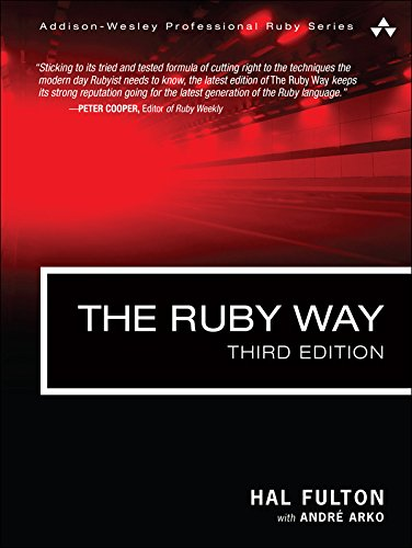 Download The Ruby Way: Solutions and Techniques in Ruby Programming (Addison-Wesley Professional Ruby Series) Pdf