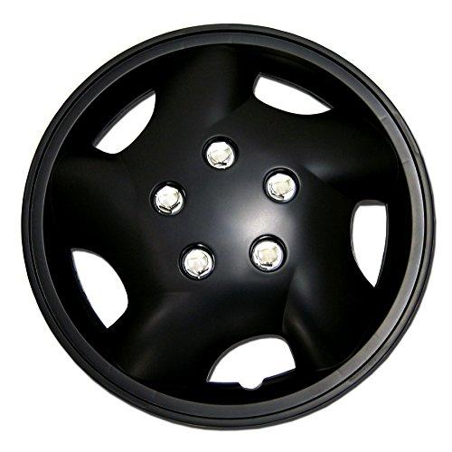 black 14 inch hubcaps - 7