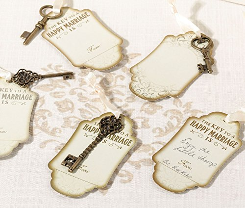 - Lillian Rose Guest Book Alternative Vintage Bronze Key Tags